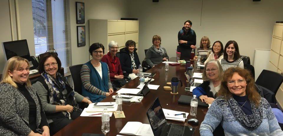 Board Meeting at Butler University, January 2016